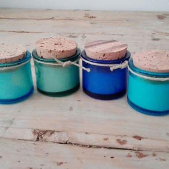 Conjunt 4 mini espelmes